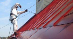 Краски для крыши с металлической кровлей